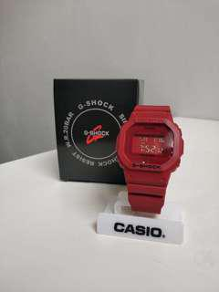 G-SHOCK DW5600 (RED OUT)