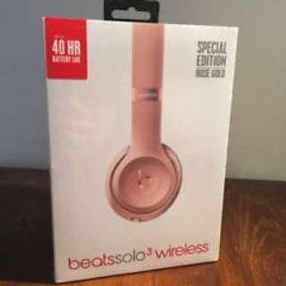 Lightly used Rose gold Beats