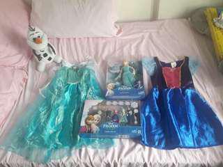 Frozen Elsa Anna Costume