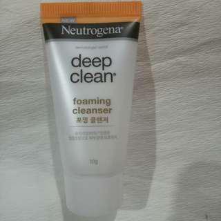 NEUTROGENA DEEP CLEAN CLEANSER 10g
