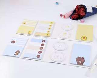 [PO] Kakao Friends Sticky Notes Pack