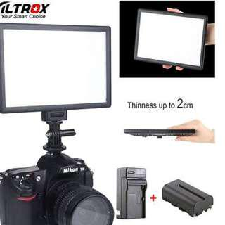 stock in Camera DSLR Video Fotography Source Viltrox L116T Led Light for your need *camera Not Included*