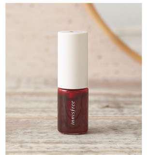 Innisfree Vivid Fruit Lip Tint in 1 Cherry