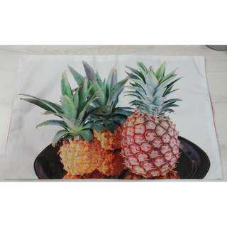 Rectangle Cushion Cover - Pineapple Print