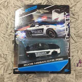 Maisto Nissan GTR R35 Police Car