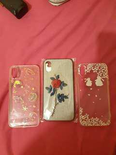 Iphone X 機殼 three phone cases 3個
