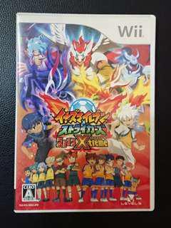 ((中古)) 日版 - Wii 閃電十一人 王牌前鋒 2012 Xtreme 終極加強版 (WiiU 可玩 Nintendo 任天堂 Level 5)