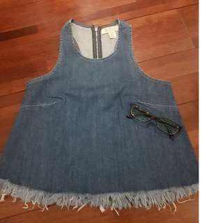 Guess racerback jeans top