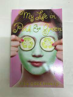 'MY LIFE IN PINK AND GREEN' BOOK