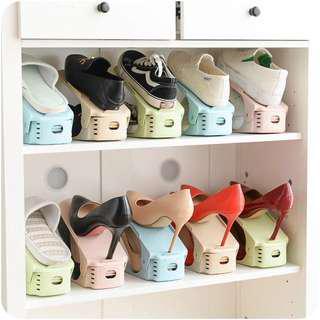 🚚 三段可調鞋架