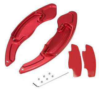 Aluminum Paddle shifter / shift extension Red for honda accord odyssey etc