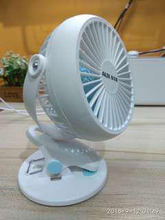 USB Clip On Table Fan