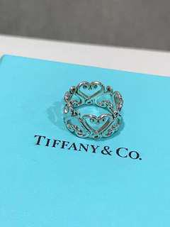 Authentic Tiffany & Co. Paloma Picasso Sterling Silver Goldoni Ring