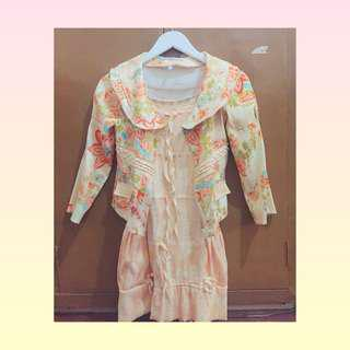 Vintage Set (Dress and Coat)