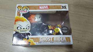 Funko pop ghost rider glow in the dark