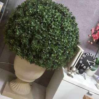 SSF Artificial Green Grass Ball Decoration Plant