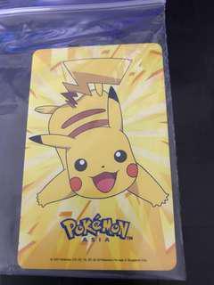 pikachu ezlink card