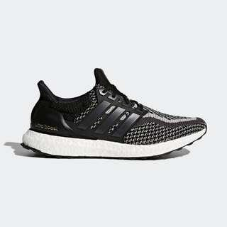 Authentic Adidas Ultraboost 2.0 Black Reflective