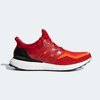 Authentic Adidas Ultraboost 2.0 Red Gradient