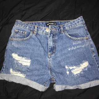 Glassons Mum Shorts - Size 6