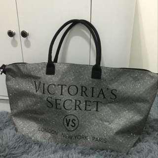Victoria's Secret Glitter Weekender Bag