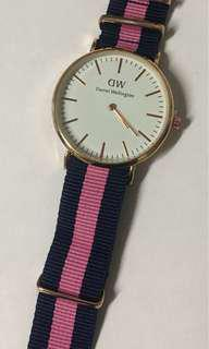 Pink womens watch