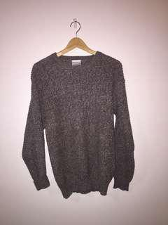 Over-sized Sweater dusty purple