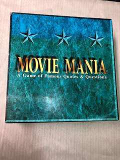 Movie Mania Board Game