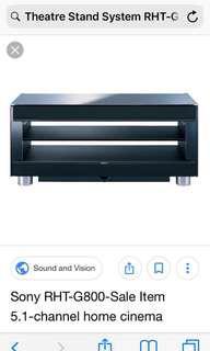 Sony Sound System RHT-G800