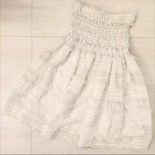 $200/2 snidel white tube dress #SELLITNOW