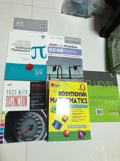 Secondary 4 and o level mathematics and add maths
