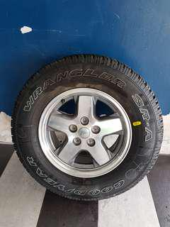 "Jeep Cherokee 16"" Rims"