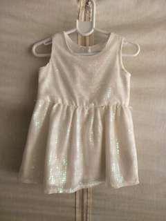 Sequined Baby Dress