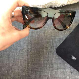 Authentic Celine Flat Top Sunglasses