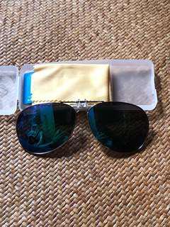 太陽眼鏡🕶️夾片藍色