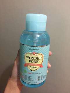 Etude house wonder pore 爽膚水