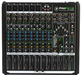 Mackie ProFX12v2 mixer with USB and effects