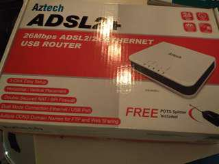 ADSL cable router
