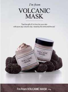 [Ready Stock] - I'm From Volcanic Mask 110g