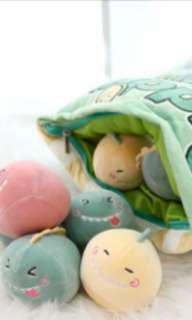 Dinosaur cushion pillow