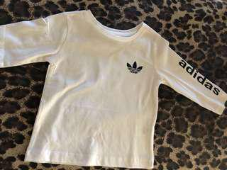 ADIDAS Long Sleeve (Unisex) Sizes: 1-8