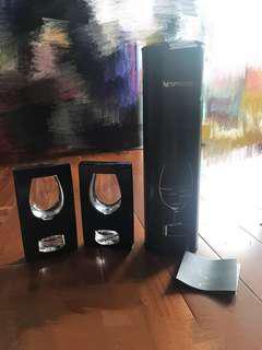 Nepresso Espresso Intense 水晶玻璃咖啡杯 100% 全新