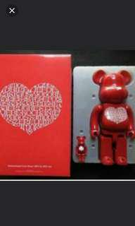 International Love Bearbrick