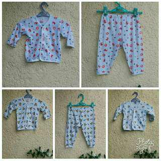 bundle pajamas terno for newborn