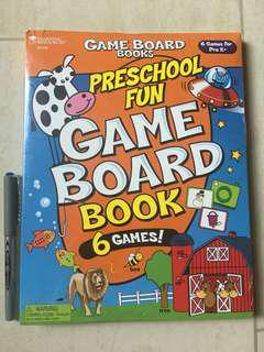 Learning Resources Preschool Fun Game Board Book - 6 Games