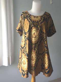 #MauIphoneX batik dress sogan