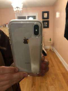 Clear Otterbox iPhone X Case