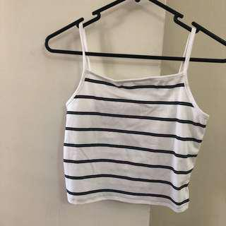 Cotton on stripe crop