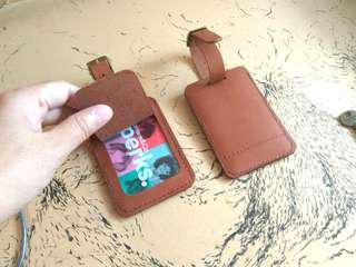 Leather Luggage Tag 🎁free name emboss