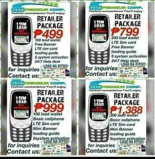 E-LOADING Business w/Cellphone